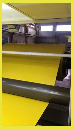 تولید-کویل-رنگی-زرد-ورق-کامپوزیت