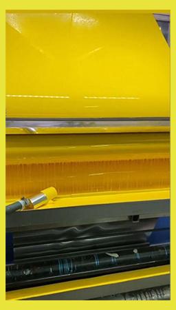 تولید-کویل-رنگی-زرد-کامپوزیت